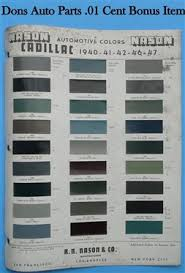cadillac paint chips