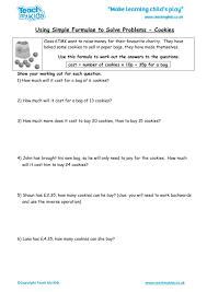number algebra word problems maths workbook worksheets tmked