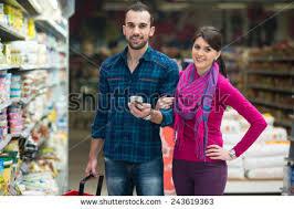 happy while choosing stock photo 618433028