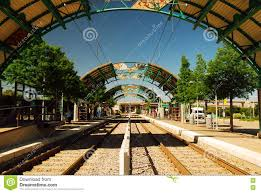 Dallas Dart Train Map by A Station On Dallas U0027 Dart Train Line Stock Photo Image 71057270