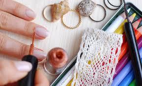 elegant fashion wedding nails rodarte spring summer 2017 seasonails