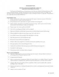 Sample Resume For Hr Assistant by Assistant Sample Human Resources Assistant Resume Template Of