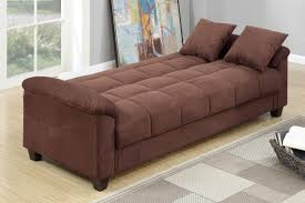 Microfiber Futon Couch Brown Fabric Sofa Bed Steal A Sofa Furniture Outlet Los Angeles Ca