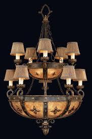 Gold Leaf Chandelier Fine Art Lamps 428140 Castile 15lt Gold Leaf Chandelier Lighting
