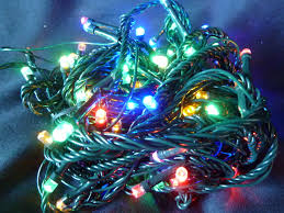 100 multi colour tree lights multi indoor
