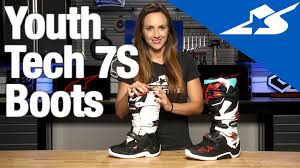 alpinestars tech 7 motocross boots youth tech 7s boots from alpinestars motorcycle superstore youtube
