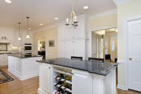 blue pearl granite kitchen contemporary with bead board cabinetry