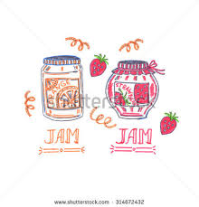 hand drawn sketch collection mason jars stock vector 580688083