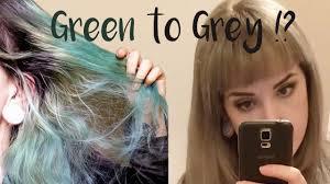 can you mix igora hair color dying hair from green to silver grey schwarzkopf igora royal
