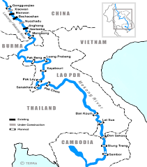 rivers in china map china drives water cooperation with mekong countries the third pole