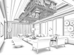 business reception living room design complete 3d model max