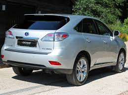 lexus uk rx used 2010 lexus rx 450h 450h se i full lexus service history for