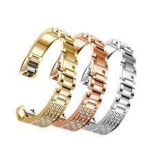 rhinestone bands fashion 2018 replacement metal bands with