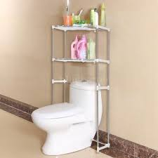bathroom space saver storage cabinet over the toilet shelf rack
