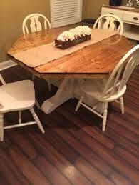 Carved Honey Oak Octagon Pedestal Dining Table Octagon Table - Octagon kitchen table