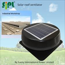 Master Flow Power Roof Ventilators 100 Solar Attic Vent Round Flat Base Solar Attic Fan