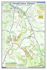 Nh Map Trails U0026 Parks Town Of Franconia