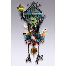 halloween city gibsonia pa the nightmare before christmas cuckoo clock hammacher schlemmer