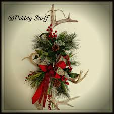 antler wreath antler wreath deer antler wreath