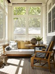 Small Enclosed Patio Ideas 20 Small And Cozy Sunroom Design Ideas Homemydesign Pinterest