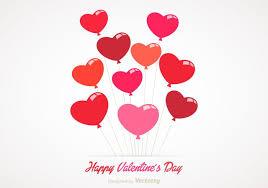 heart balloons free heart balloons vector free vector stock
