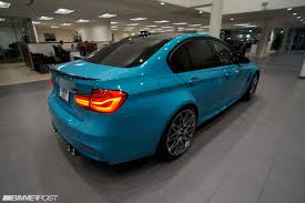 blue porsche 2017 bmw m3 finished in miami blue porsche looks delicious