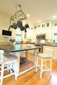 glass top kitchen island glass top kitchen island transitional dog crates kitchen