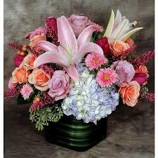 Cube Vase Centerpieces by Flowers Centerpieces Holiday Floral Kremp Com