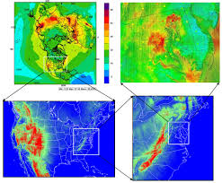 United States Radon Map by Cmaq Models Cmaq The Community Multiscale Air Quality Modeling