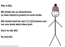 Meme Stick Figure 100 Images - backlash against bill the stick man who tells people how to behave