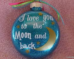 disney eeyore i you to the moon and back ornament