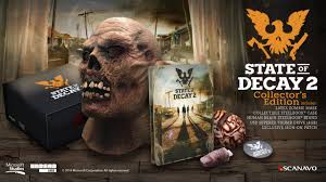 collector s survive with the state of decay 2 collector s edition xbox wire