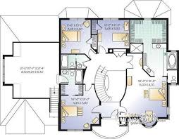 5 bedroom house plans with bonus room house plan w3842 detail from drummondhouseplans