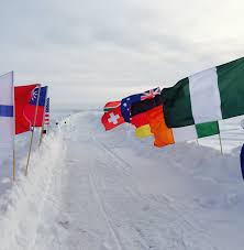 Nigerian Flag Check Out The Nigerian Flag On The North Pole Inspiring Runner