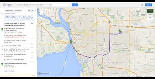 Google Map United States by Buffalo Fort Erie Public Bridge To Buffalo Niagara International
