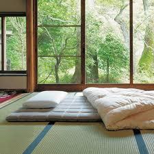 chambre style japonais lit style japonais futon pour une chambre coucher de thoigian info