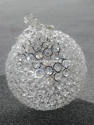 Crystal Sphere Chandelier Hanging Crystal Ball Wedding Decor Crystal Balls Crystal Ball