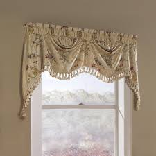 amazon com united curtain jewel heavy woven austrian valance 108