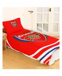 Betty Boop Duvet Set Arsenal Fc Pulse Single Duvet Cover And Pillowcase Set Bedding