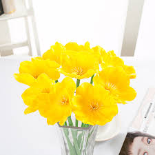 Flower Decoration For Home by Compare Prices On Poppy Flower Decor Online Shopping Buy Low