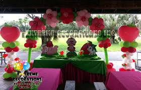 Strawberry Shortcake Cake Decorations Party Decorations Miami Balloon Sculptures