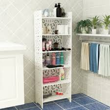 How To Decorate Bathroom Shelves White Carved Bathroom Shelf Bathroom Shelf Bookshelf Fashion