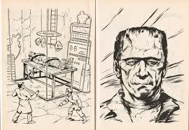 universal studios monsters a big coloring book from golden books