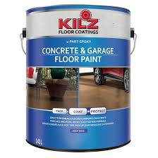 concrete garage floor paint rona