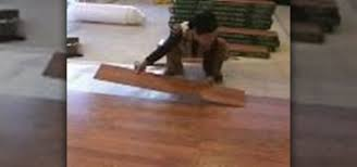 how to install pergo floor construction repair wonderhowto
