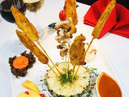 cuisine a la food gallery la paillote restaurant hua hin thailandla
