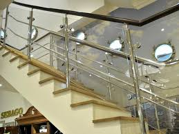 stainless steel staircase design home furniture design