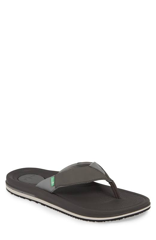 Sanuk Beer Cozy 3 Charcoal Sandal 12M