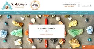 crystal decor salt l shop for crystals minerals at the om shoppe