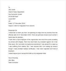 resignation letters reminders short resignation letter format 6